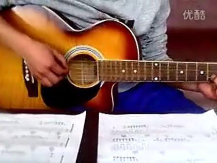 吉他简单练习曲滴答 吉他简单练习曲简谱 吉他滴答六线谱