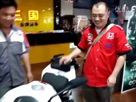 厦门 黄龙/高清厦门第一辆钱江黄龙600CC大排量摩托车得主...