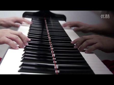 摇滚卡农超级疯狂钢琴版 连帅Shylium演奏 古典也流行 好听经典音乐的热血牛逼改编