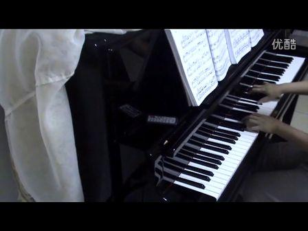 兰花花的故事 钢琴 –