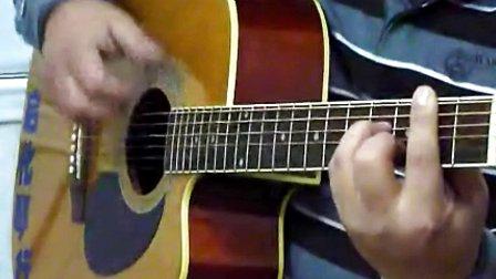 吉他入门第八讲扫弦练习歌曲《真心英雄》·第一季