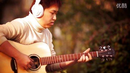 爱我别走 改编版 吉他配非洲鼓--上海蓝手琴行