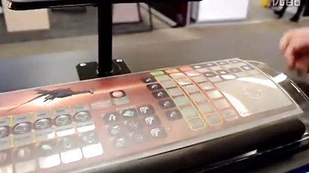 科幻变现实:世界首款玻璃键盘现身