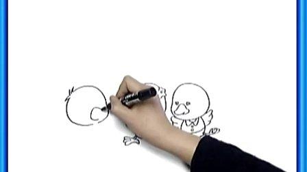 姜宏/第55课《捉迷藏》姜宏儿童画教学