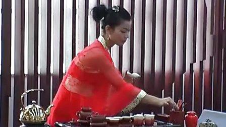 茶仙子大红袍茶艺表演