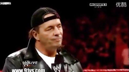 2010_Raw_3月29日_Shawn Michaels退役(2)