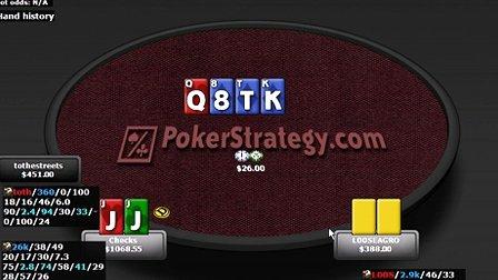 德州扑克教学:如何游戏TT和JJ--02