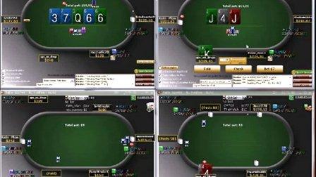 德州扑克教学:NL200大筹码策略理论视频之FloatingⅠ
