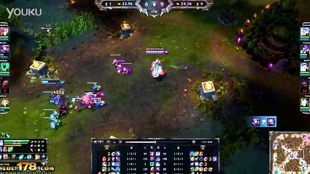 [LOL]精彩击杀:努努和小炮的精彩配合 让人眼前一亮-