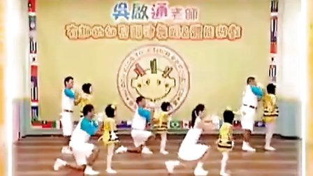 幼儿广播体操敲咚咚 –