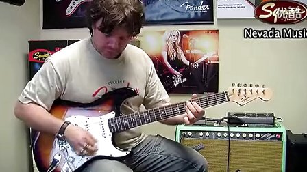 左轮吉他:印尼进口Squier Bullet Strat电吉他 音色试听