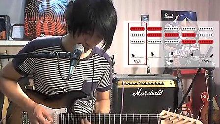 左轮:芬达的 squier电吉他子弹系列的试听与评测
