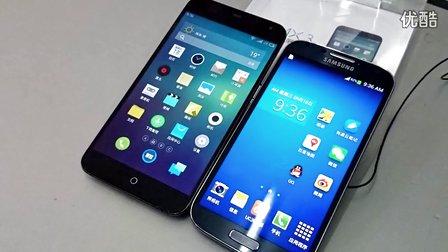魅族MX3上手测评 对比三星Galaxy S4、MX2
