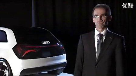 流光溢彩 奥迪全新OLED车灯效果演示