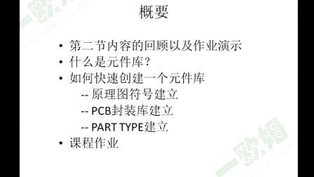 PCB设计培训第三节----元件库1 (一欧姆社区主办) 高清