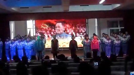 襄汾县第三书香12班配乐诗朗诵《小学梦、少庆隆小学图片