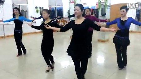 拉丁舞桑巴基本步教学视频