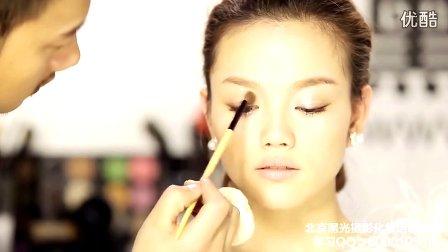 化妆 步骤 新娘妆 教程/超清新娘妆教程学化妆发型教程黑光化妆造型视...