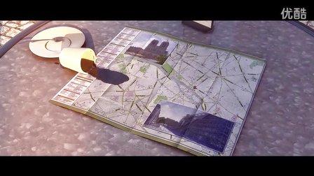 【微电影】超现实主义城市风光奇幻动画《羽毛与巨鸟的旅行》