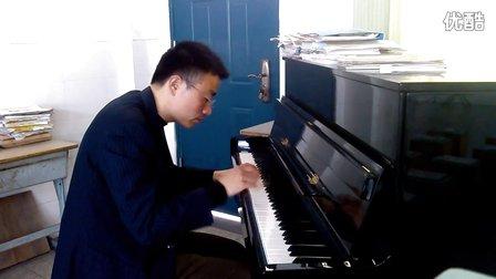 《我爱你中国》钢琴谱