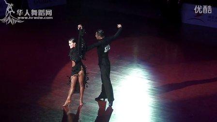 2014年中国体育舞蹈公开赛(上海站)A组拉丁决赛SOLO伦巴侯垚 庄婷00744