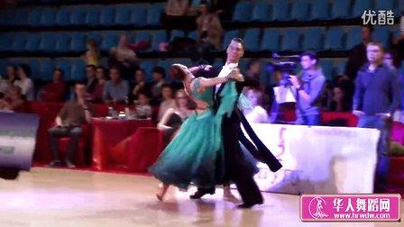 2014年莫斯科之星体育舞蹈锦标赛半决赛维也纳华尔兹Семенов Сычева