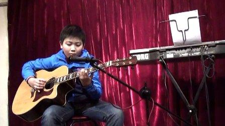 天音T-903拾音器 10岁小朋友弹奏指弹大师岸部真明作品时间旅行