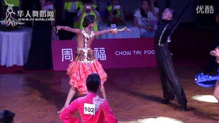 2014年CBDF中国杯巡回赛济南站21岁以下组L第一轮斗牛王少宇 宋源