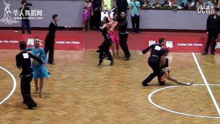 2014年CBDF中国杯巡回赛济南站专业18岁以下组L第一轮第二组桑巴00269