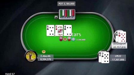 中国扑克人:扑克之星周日百万赛视频Sunday Million2014-4-8