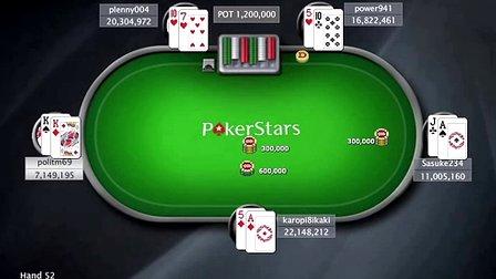 中国扑克人:扑克之星周日百万赛视频Sunday Million2014-1-16