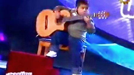 比郑成河还牛逼的小孩吉他手 Julio Silpitucla - La cumparsita