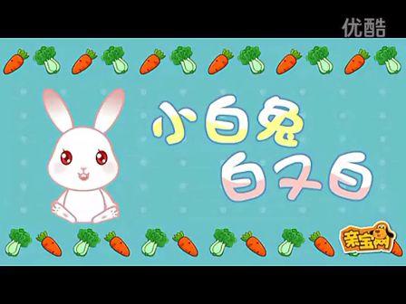 儿歌视频小白兔白又白