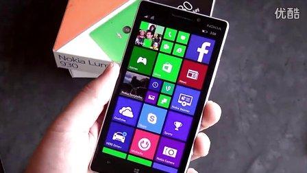 諾基亞Lumia 930開箱+上手視頻