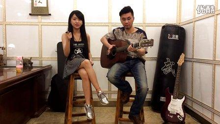 小苹果女生吉他弹唱 C