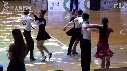 2014年第12届全国青少年体育舞蹈锦标赛业余少年I组A级赛L决赛桑巴吴世民 程许诺306号00266