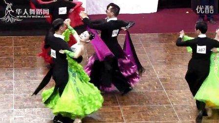 2014中国深圳标准舞缅甸万丰国际老百胜世界公开赛国际公开壮年组S第一轮探戈龚丕均 吴碧兰