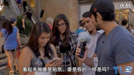 [中文字幕]山寨iPhone6忽悠路人,竟然当真了