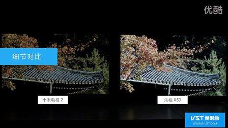 小米电视2与乐视X50Air画质、显示效果对比