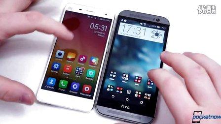 [中文字幕]小米4對比評測HTC One M8