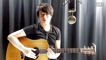 果木浪子 吉他入门标准教程 第46课 月亮代表我的心