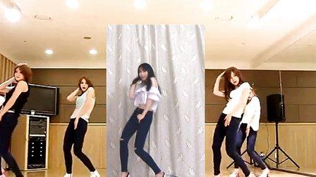 【紫嘉儿】aoa 短发 牛仔裤版