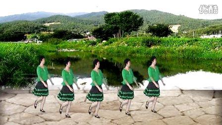 重庆叶子广场舞山谷里的思念 原创 附分解和背面演示