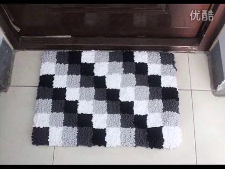 旧毛线钩坐垫图解旧毛线编织坐垫图解   本产品为纯手工编织高清图片