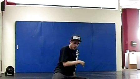【街舞视频】机械舞牛人 poppin 达人大师 popping john Randm Rok SBK Ground Moves