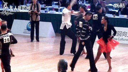 【VIP】2014年CBDF第二十八届全国锦标赛21岁以下组L半决赛恰恰王大宇 陈佳