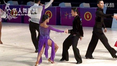 2014年第24届全国体育舞蹈锦标赛职业组L复赛牛仔【VIP】魏苏胤 程文婷