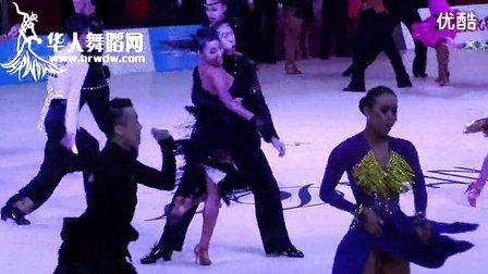 2014年第24届全国体育舞蹈锦标赛青年A组L复赛恰恰【VIP】王耀笙 宫铭