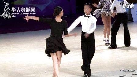 2014年第24届全国体育舞蹈锦标赛业余少年I组B级L决赛恰恰梁家傑 潘姿羽