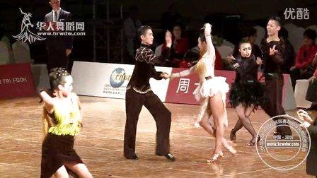 2014年CBDF中国杯巡回赛总决赛十项全能组L第三轮伦巴【VIP】刘文嘉 杨翔允